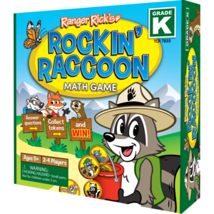 TCR7835 Ranger Rick Rockin' Raccoon Math Game Grade K Image