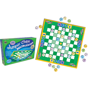 TCR7839 Jumpin Chips: Multiplication Game Image