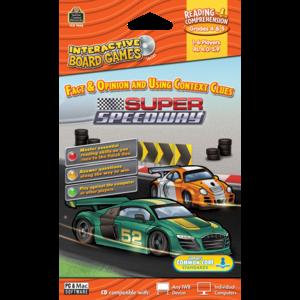 TCR7848 Super Speedway Computer Game CD Grade 4-5 Image