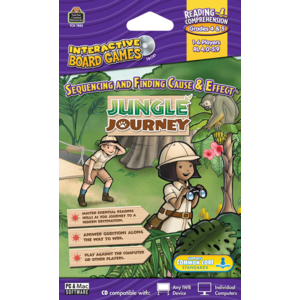TCR7852 Jungle Journey Computer Game CD Grade 4-5 Image