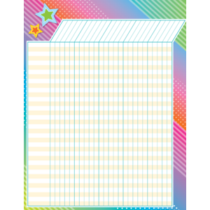 TCR7935 Colorful Vibes Incentive Chart Image