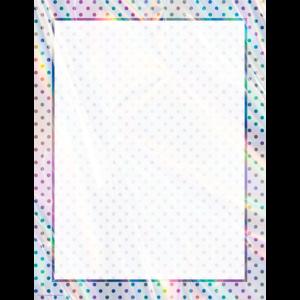 TCR7950 Iridescent Blank Chart Image