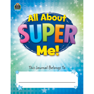 TCR8004 All About Super Me! Journal Grades K-1 Image