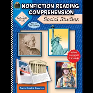 TCR8023 Nonfiction Reading Comprehension: Social Studies, Grades 2-3 Image