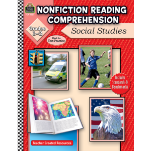 TCR8027 Nonfiction Reading Comprehension: Social Studies, Grades 1-2 Image