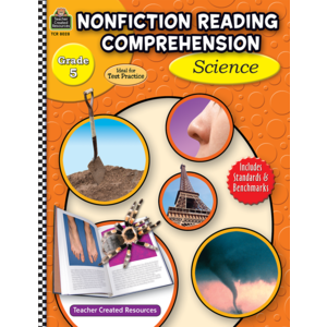 TCR8028 Nonfiction Reading Comprehension: Science, Grade 5 Image