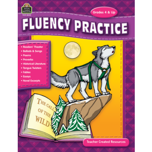 TCR8042 Fluency Practice, Grades 4 & up Image