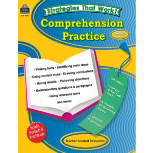 TCR8047 Strategies that Work: Comprehension Practice, Grades 7 & Up Image