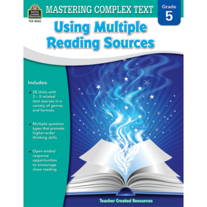 TCR8063 Mastering Complex Text Using Multiple Reading Sources Grade 5 Image