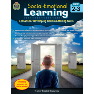 TCR8109 Social-Emotional Learning: Lessons/Devel Decisions Grade 2-3 Image