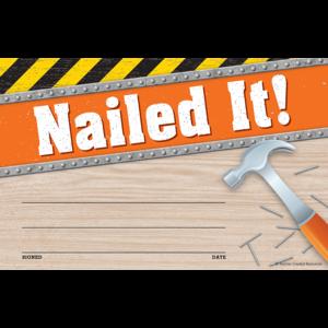 TCR8140 Under Construction Nailed It Awards Image
