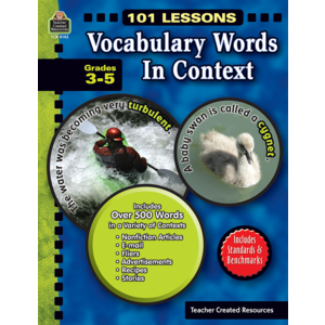 TCR8142 101 Lessons: Vocabulary Words in Context Image