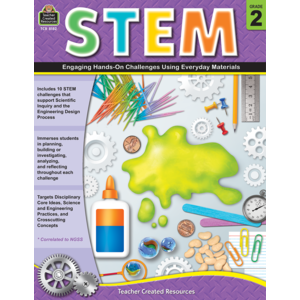 TCR8182 STEM: Engaging Hands-On Challenges Using Everyday Materials Grade 2 Image