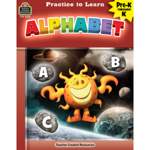 TCR8202 Practice to Learn: Alphabet Grade PreK-K Image