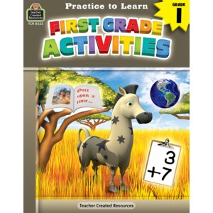 TCR8223 Practice to Learn: First Grade Activities Image