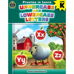 TCR8229 Practice to Learn: Uppercase and Lowercase Letters Grade K Image