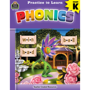 TCR8232 Practice to Learn: Phonics Grade K Image