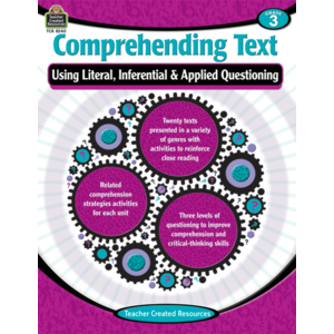TCR8240 Comprehending Text Using Literal/Inferential/Applied Quest-3 Image