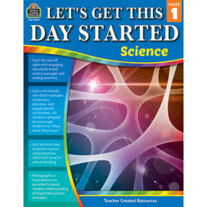 TCR8261 Let's Get This Day Started: Science Gr 1 Image