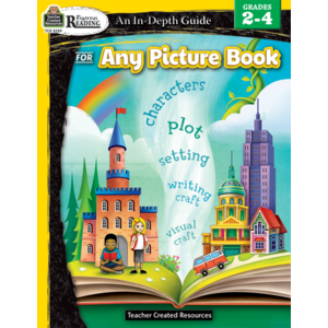 TCR8289 Rigorous Reading: An In-Depth Guide for Any Picture Book Gr 2-4 Image