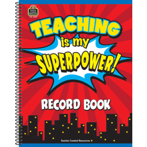 TCR8299 Teaching Is My Superpower Record Book Image