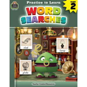TCR8301 Practice to Learn: Word Searches Image