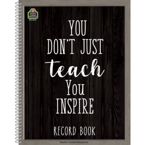 TCR8316 Modern Farmhouse Record Book Image