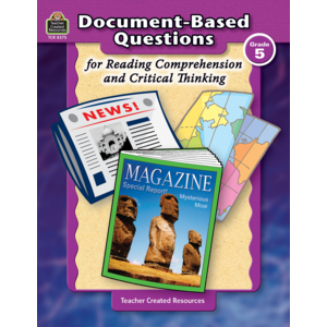 TCR8375 Document-Based Questions for Reading Comprehension and Critical Thinking Image
