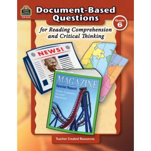 TCR8376 Document-Based Questions for Reading Comprehension and Critical Thinking Image