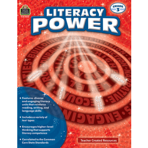 TCR8377 Literacy Power Grade 3 Image