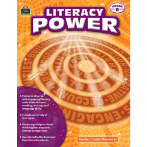 TCR8380 Literacy Power Grade 6 Image