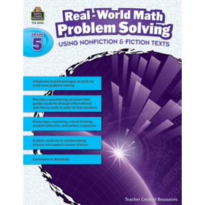 TCR8390 Real-World Math Problem Solving Grade 5 Image