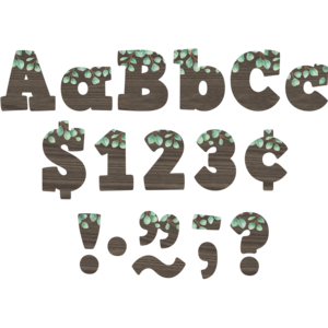 "TCR8450 Eucalyptus 4"" Bold Block Letters Combo Pack Image"
