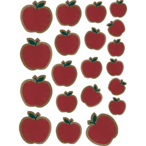 TCR8467 Home Sweet Classroom Apples Accents - Assorted Sizes Image