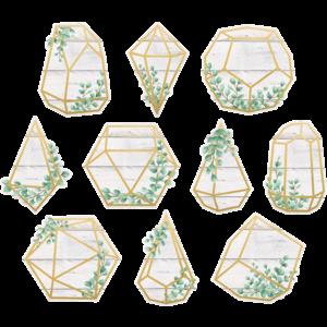 TCR8475 Eucalyptus Geometric Terrariums Accents Image