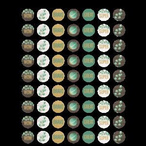 TCR8478 Eucalyptus Mini Stickers Image