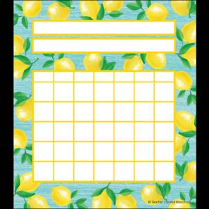 TCR8486 Lemon Zest Incentive Charts Image
