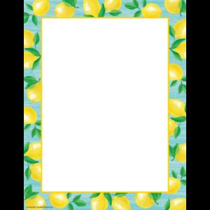 TCR8488 Lemon Zest Computer Paper Image