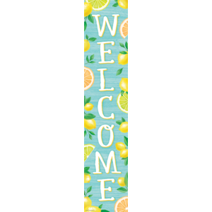 TCR8495 Lemon Zest Welcome Banner Image