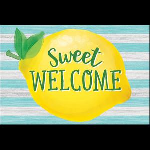 TCR8496 Lemon Zest Sweet Welcome Postcards Image