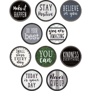 TCR8518 Modern Farmhouse Positive Sayings Accents Image