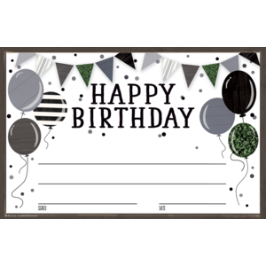 TCR8528 Modern Farmhouse Happy Birthday Awards Image