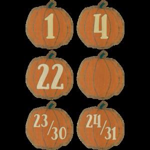 TCR8547 Home Sweet Classroom Pumpkins Calendar Days Image