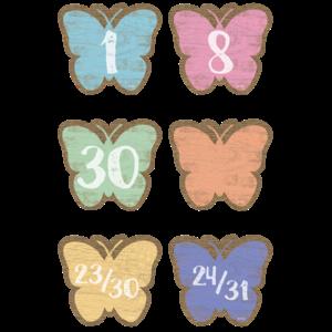 TCR8549 Home Sweet Classroom Butterflies Calendar Days Image