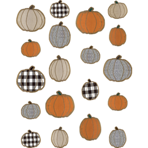 TCR8553 Home Sweet Classroom Pumpkins Accents - Assorted Sizes Image