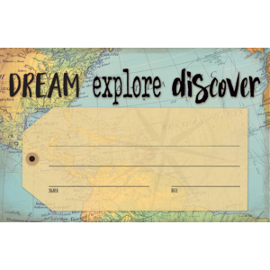 TCR8570 Travel the Map Dream Explore Discover Awards Image