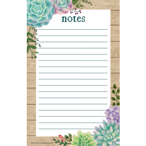 TCR8595 Rustic Bloom Notepad Image