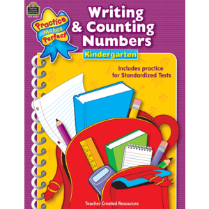 TCR8604 Writing & Counting Numbers Grade K Image