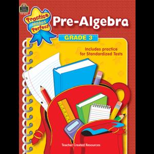 TCR8633 Pre-Algebra Grade 3 Image