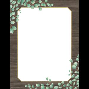 TCR8699 Eucalyptus Computer Paper Image